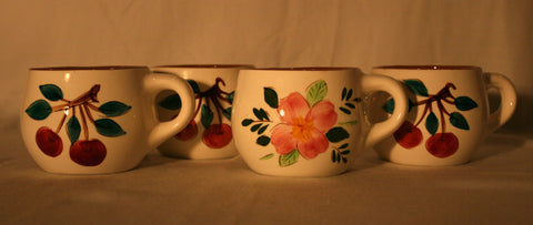 1940's Stangl Pottery Coffee Mugs