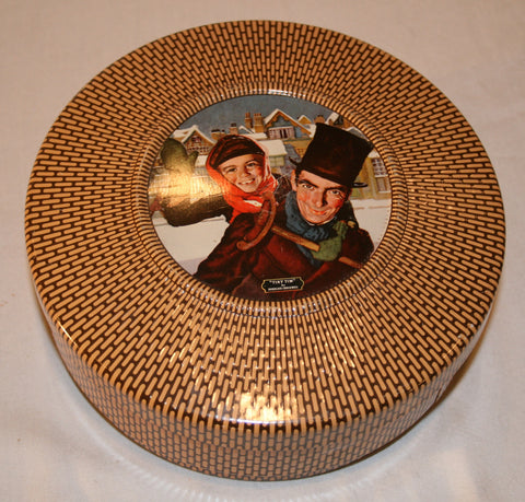 Vintage Douglass Crockwell Tin