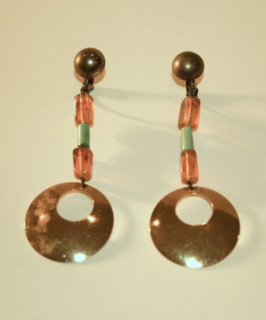 1960s Dangle Earrings - Vintage Swag Chics