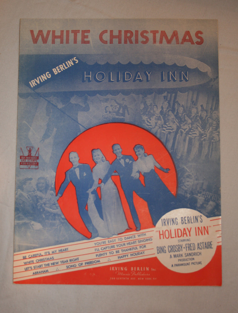 White christmas sheet music vintage swag chics for Dreaming of a white christmas lyrics