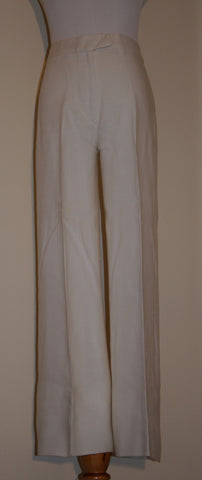 Classic Lined Linen Pants