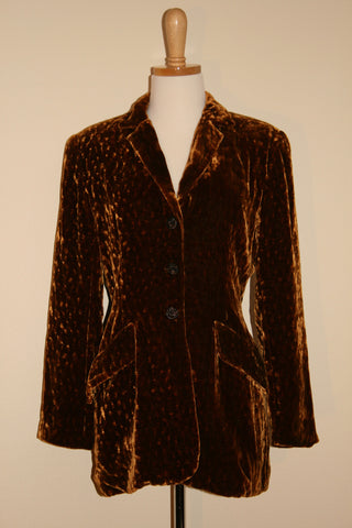 Vintage Velvet Jacket by Zelda