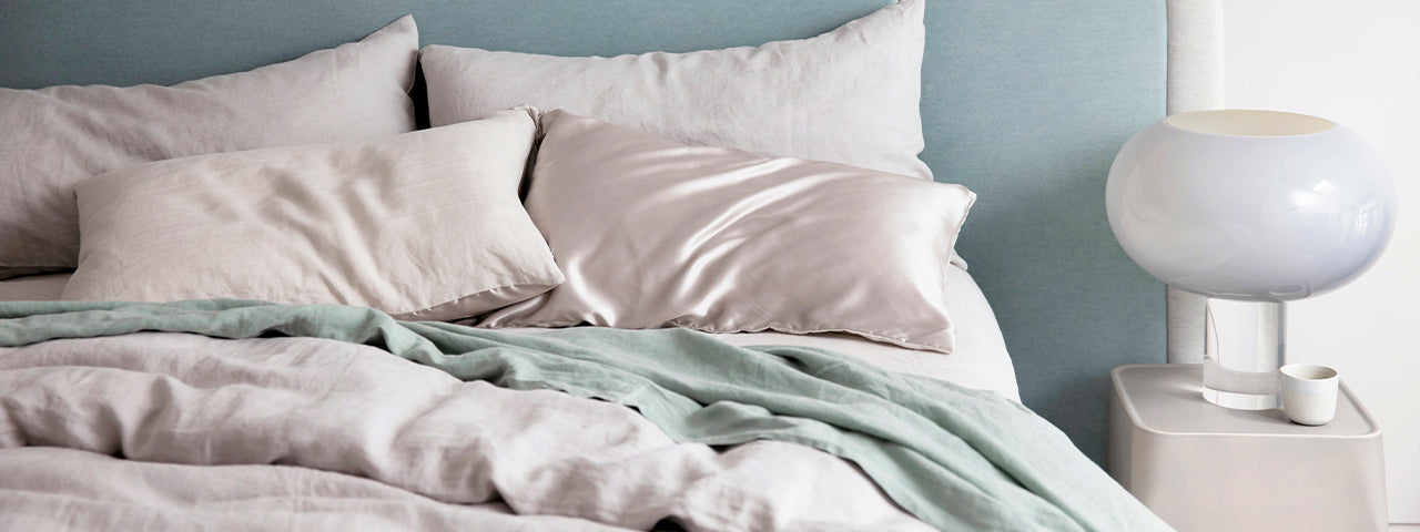 NEW | Silk Linen Flip Pillowcase