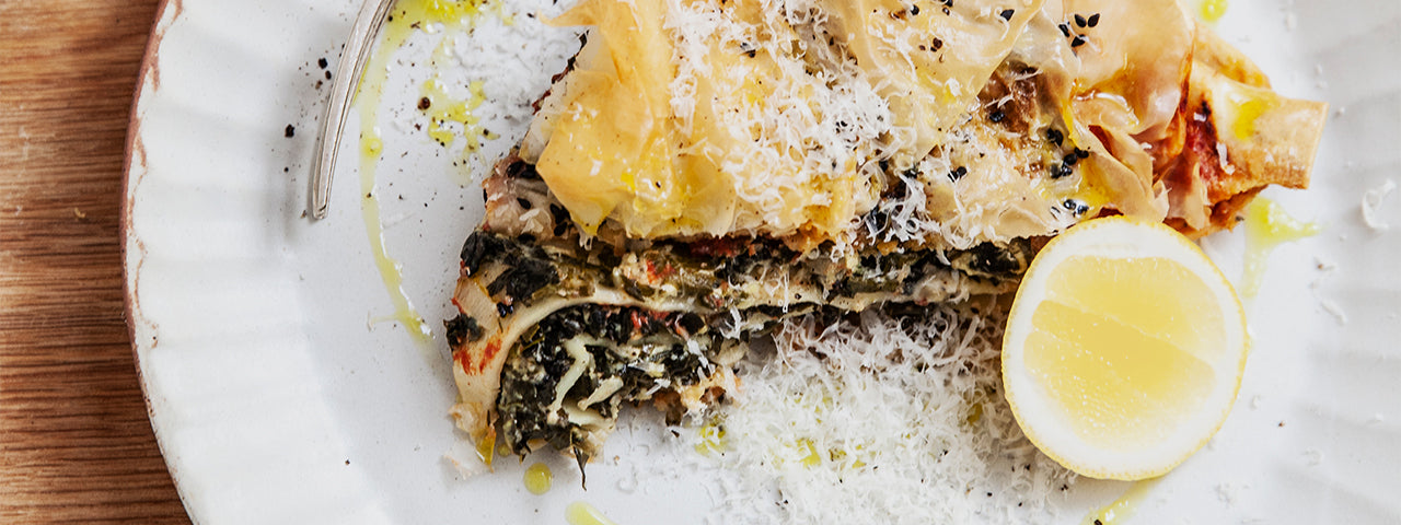 RECIPE | Spinach & Ricotta Lasagne