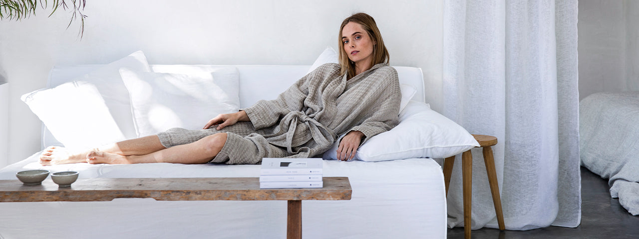 NEW | Linen Waffle Robes