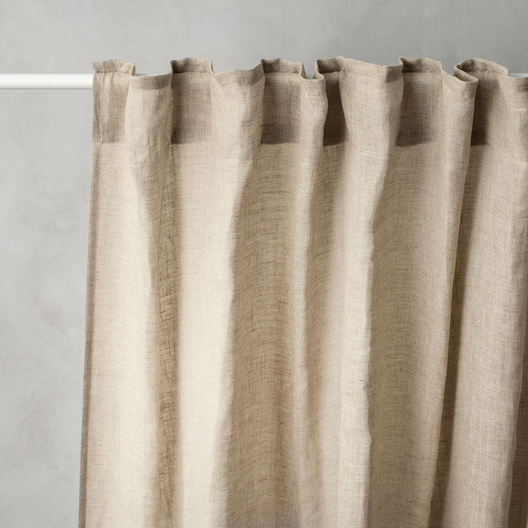 Linen Curtain - Natural