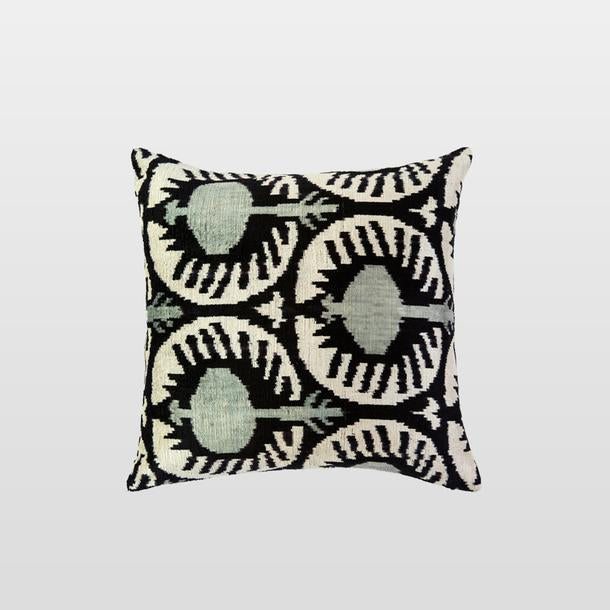 Amapola Silk Velvet Cushion