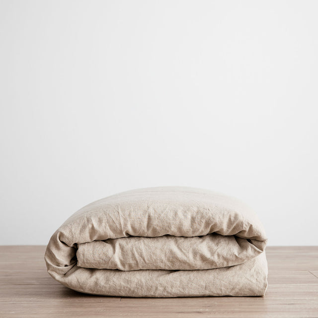 Linen Duvet Cover - Natural