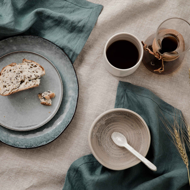 Linen Table Napkins - Bluestone