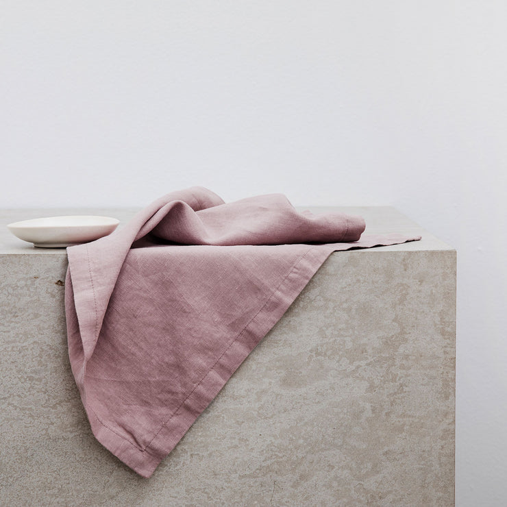 Linen Table Napkins - Dusk