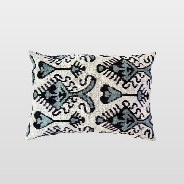 Yesil Silk Velvet Cushion