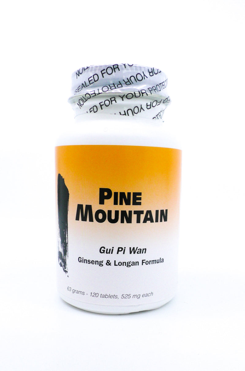 Pine Mountain Gui Pi Wan  - Ginseng and Longan Formula