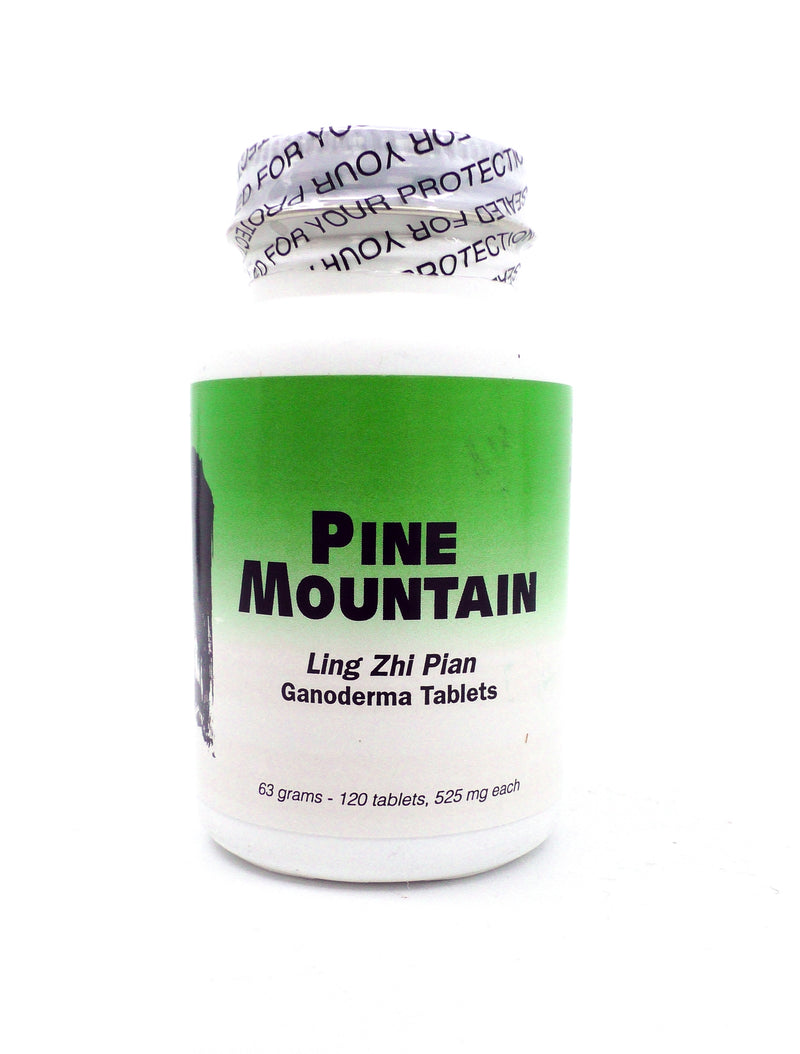 Pine Mountain Ling Zhi Pian - Ganoderma Tablets