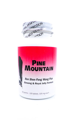 Pine Mountain Ren Shen Feng Wang Pian - Ginseng and Royal Jelly Formula