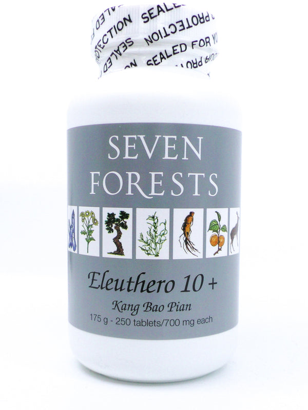 Seven Forests Eleuthero 10 (250 count)