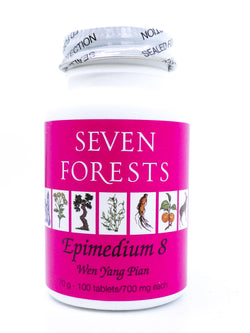 Seven Forests Epimedium 8 (100 count)