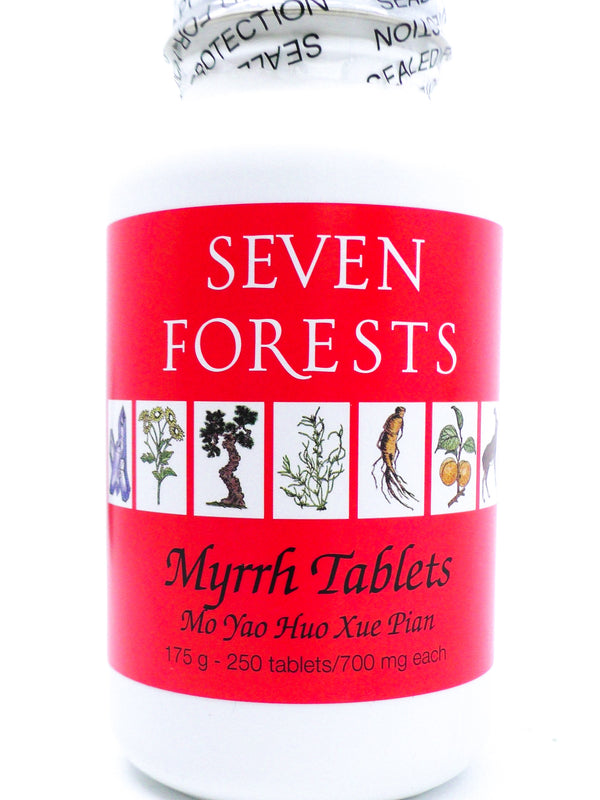 Seven Forests Myrrh Tablets (250 count)