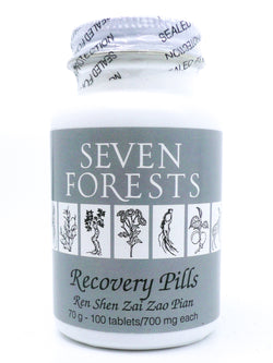 Seven Forests Recovery Pills (100 count)