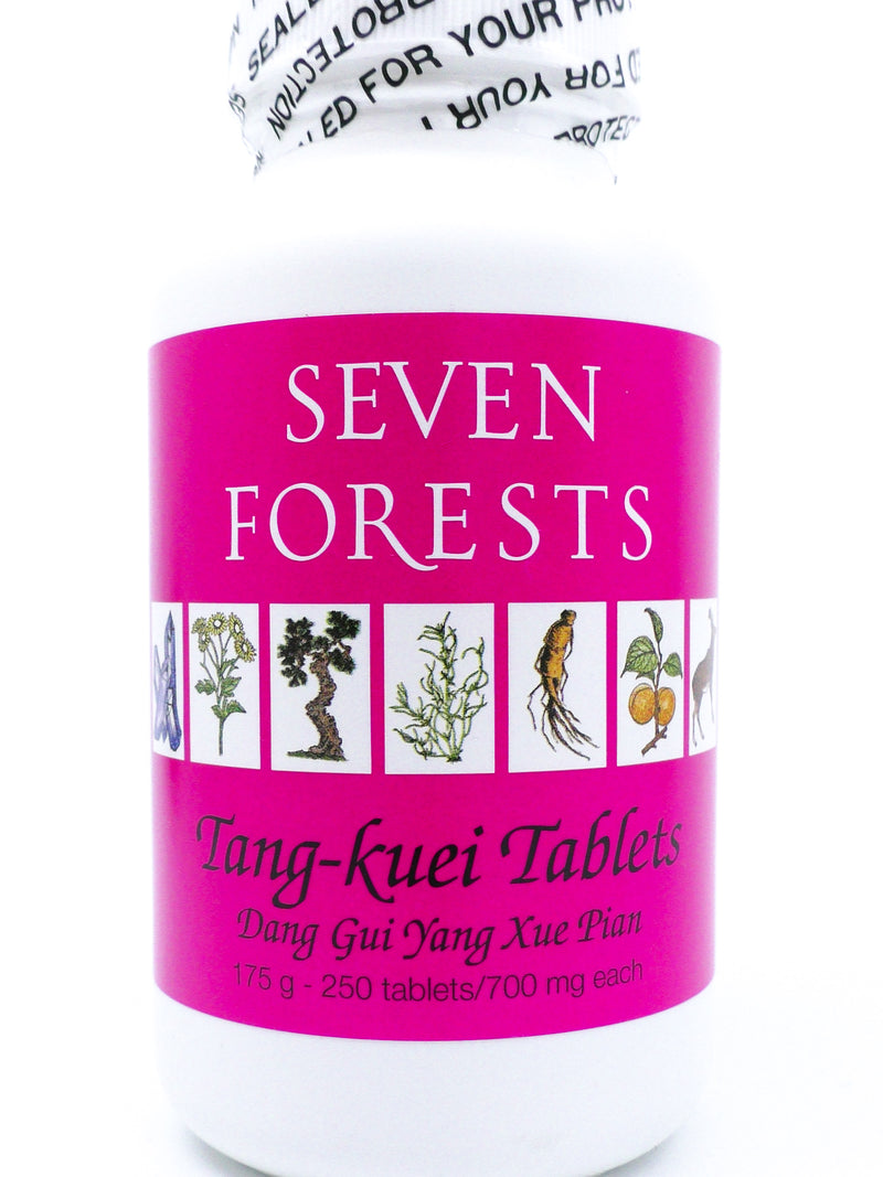 Seven Forests Tang-kuei Tablets (250 count)