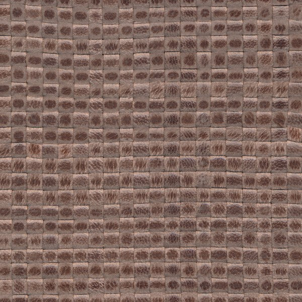 Woven Leather Basketweaves - 31 Grey