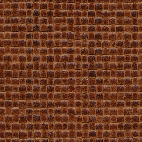 Woven Leather Basketweaves - 21 Lt. Brown