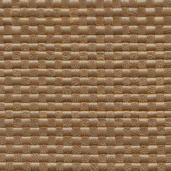Woven Leather Basketweaves - 63 Lt. Gold