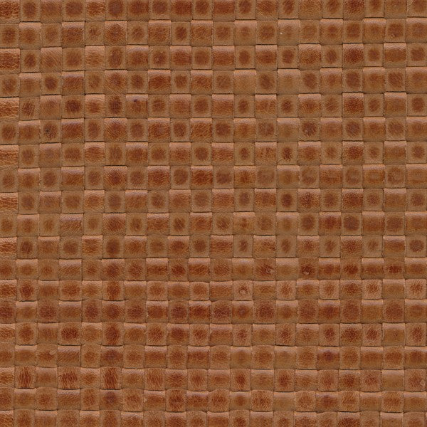 Woven Leather Basketweaves - 11 Oliva