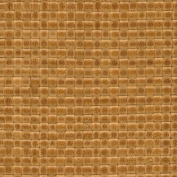 Woven Leather Basketweaves - 86 Parrot Green
