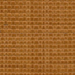 Woven Leather Basketweaves - 85 Safran