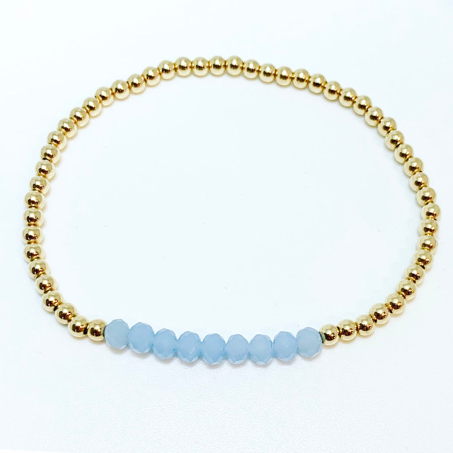 Bracelet with Chalcedony Gemstones
