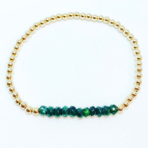 Bracelet with Jade Gemstones