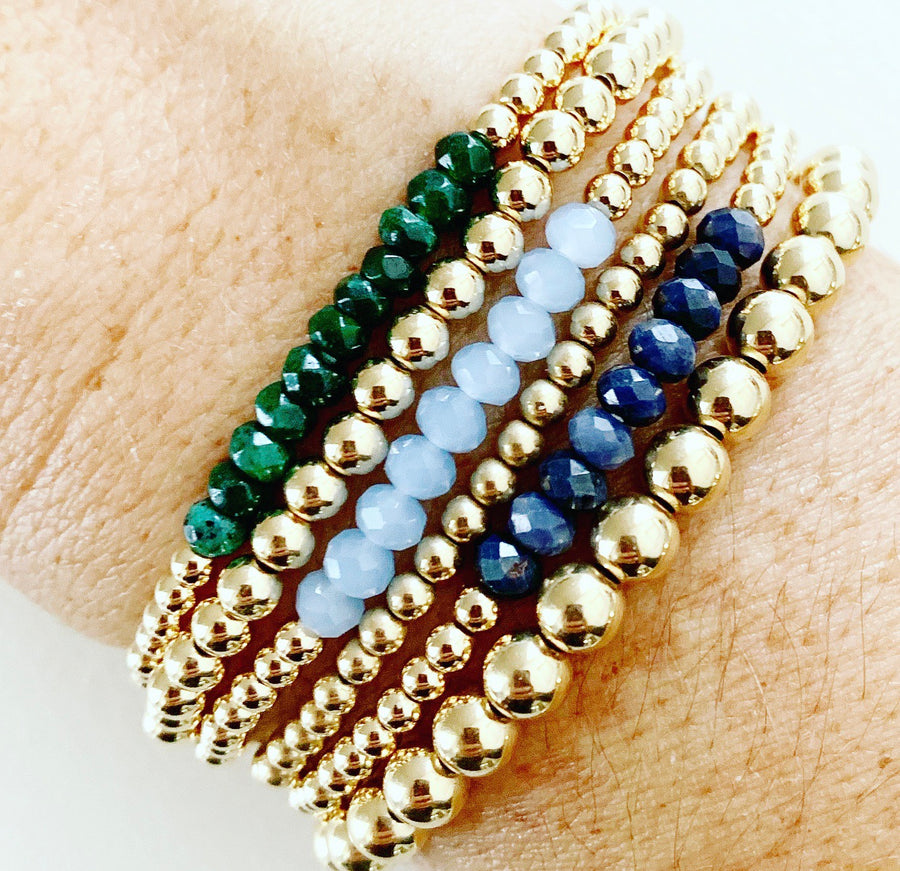 Fall Colors Gemstone Stack