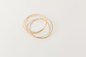 Wave Bangle Set