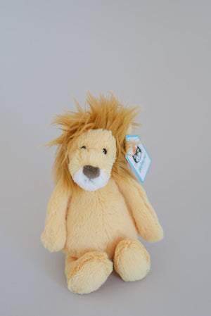 Bashful Lion Jellycat Small 8""