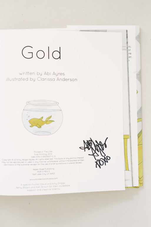 Gold, a children's book