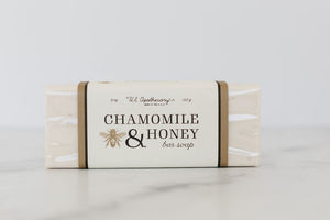 Chamomile & Honey Bar Soap 9oz