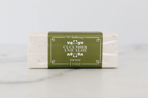 Cucumber & Aloe Bar Soap 9oz