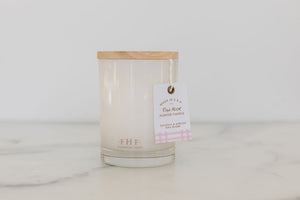 Farmhouse Fresh Candle w Wood Lid 11oz