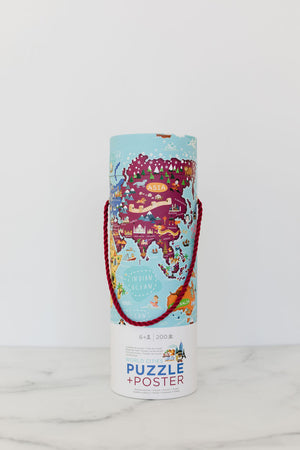 200Pc Puzzle + Poster