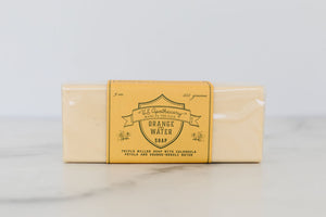 Orange Water Bar Soap 9oz