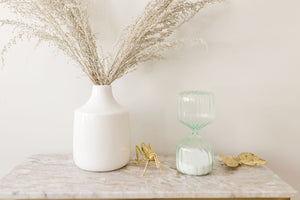 Mint Hourglass 1 Hour Timer