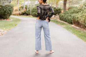 The James Wide Leg Jean