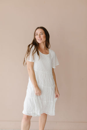 The Rosamund Eyelet Dress