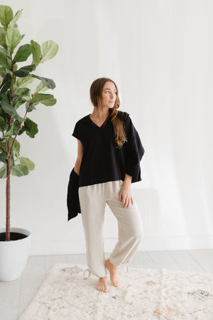 The Wendy V-Neck Blouse