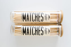 Vintage Apothecary Fireplace Matches
