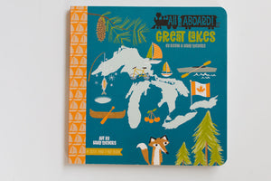All Aboard Great Lakes: A Seek and Find Book