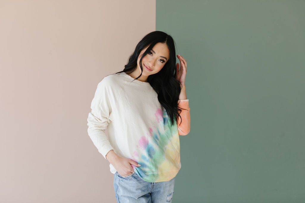 The Happy Rainbow Top