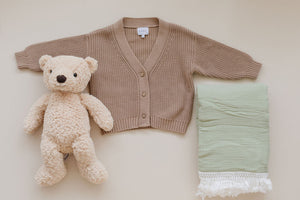 Children's Chunky Knit Cardigan