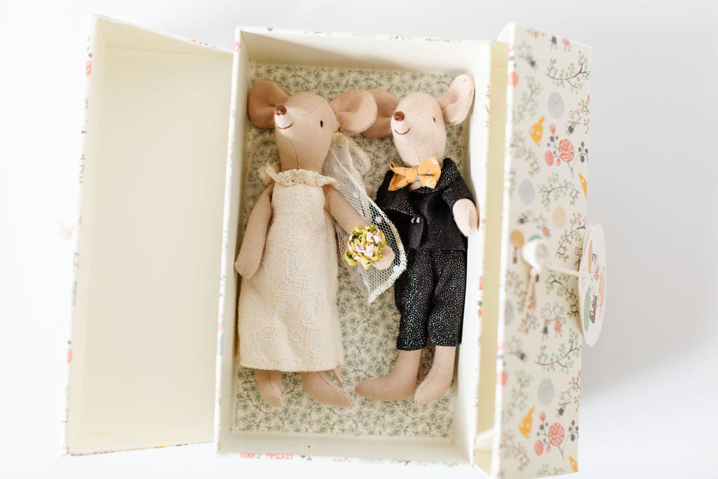 Maileg Just Married Mice Couple