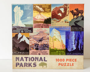 National Parks 1,000 pc Puzzle